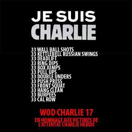 Crossfit Rollon Charlie WOD