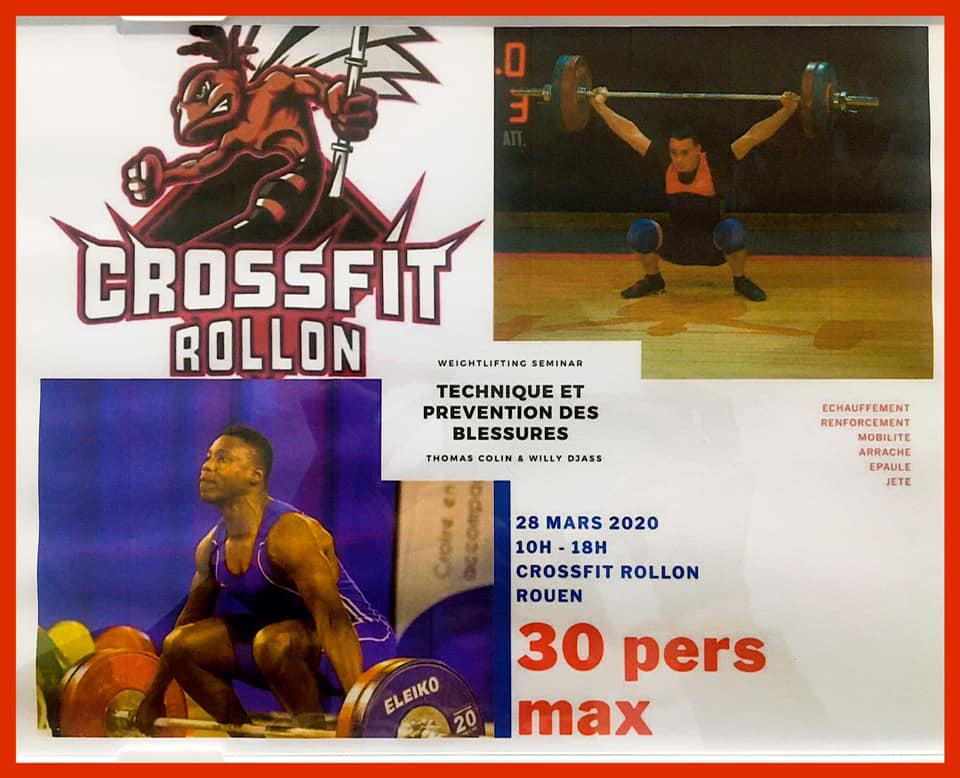 Crossfit Rollon Haltérophilie